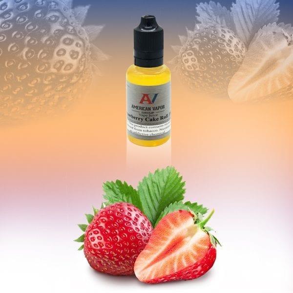 Strawberry Cake Roll