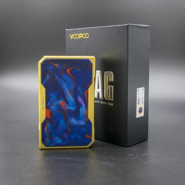 VooPoo Gold Drag Mod Azure Resin
