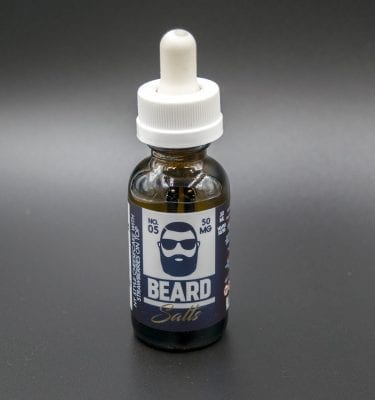 Strawberry Cheesecake Beard Salts No 5 Nicotine Salt Vapor Eliquid