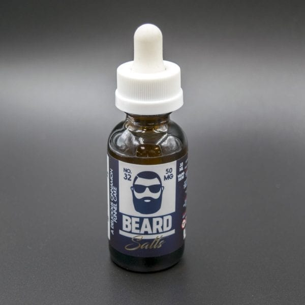 Cinnamon Funnel Cake Beard Salts No 32 Nicotine Salt Vapor Eliquid