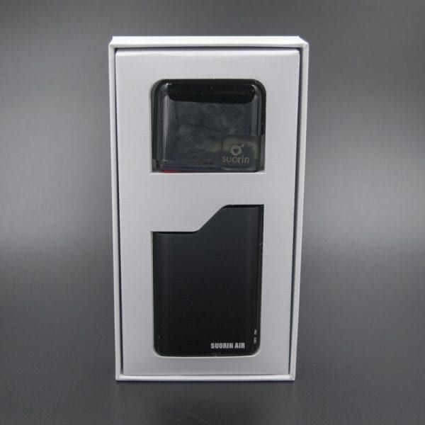 Black Suorin Air Nicotine Salt Device Kit Box