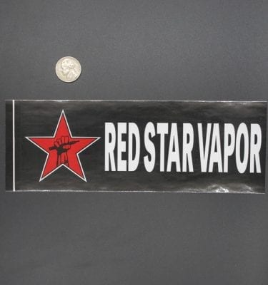 Red Star Bumper Sticker