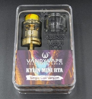 Vandy Vape Kylin RTA Mini Gold
